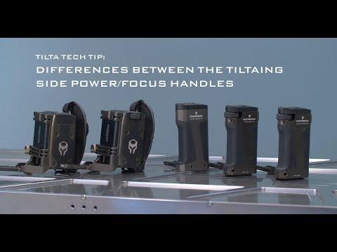 Tilta Tech Tip: Differences between Tiltaing Side Power and Focus Handles