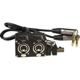 Audio Supply Converter for RED DSMC1 Epic/BMPCC (15mm Rod Adapter)