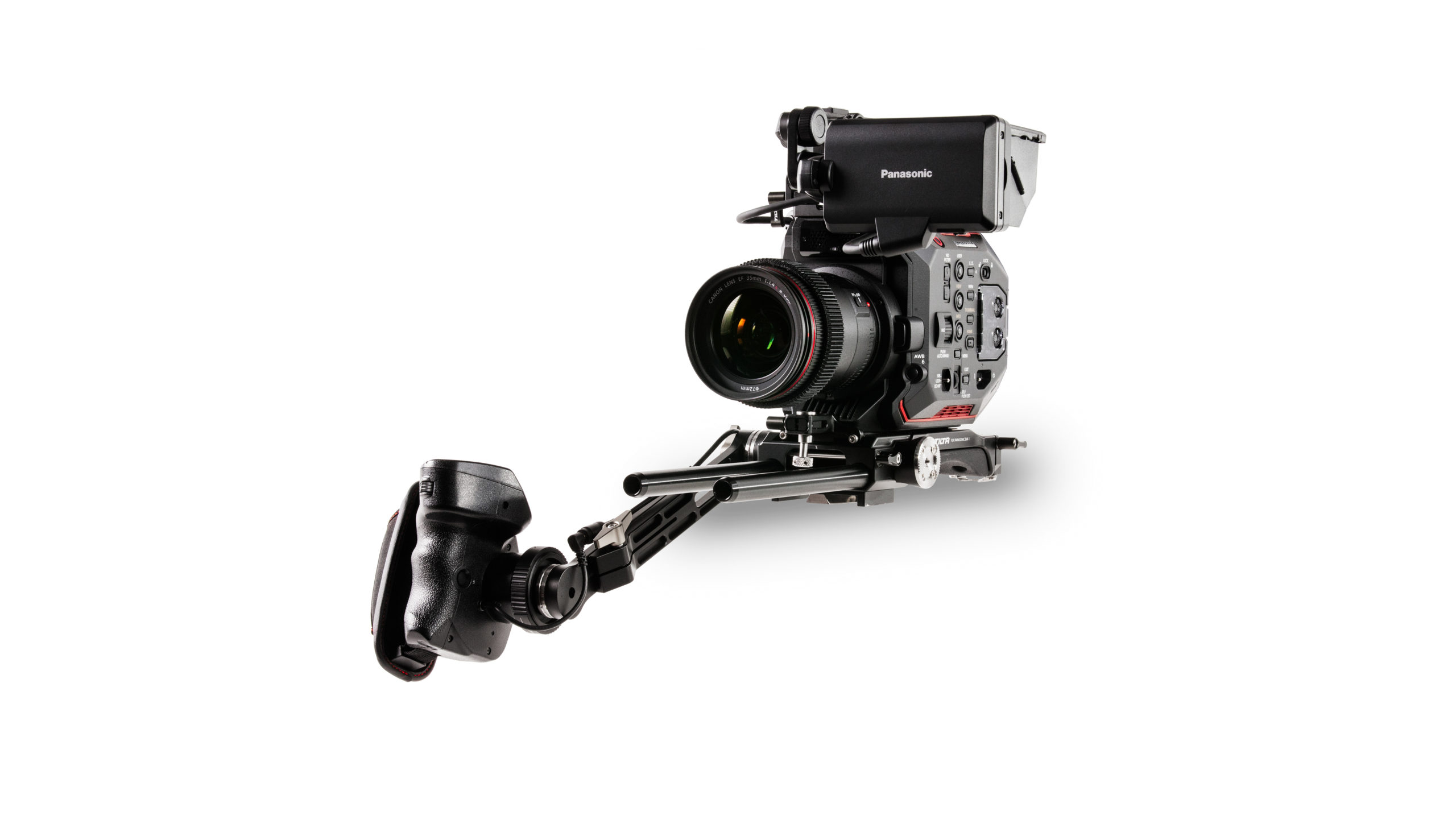 Camera Cage for Panasonic EVA1 - No Battery Plate (Open Box)