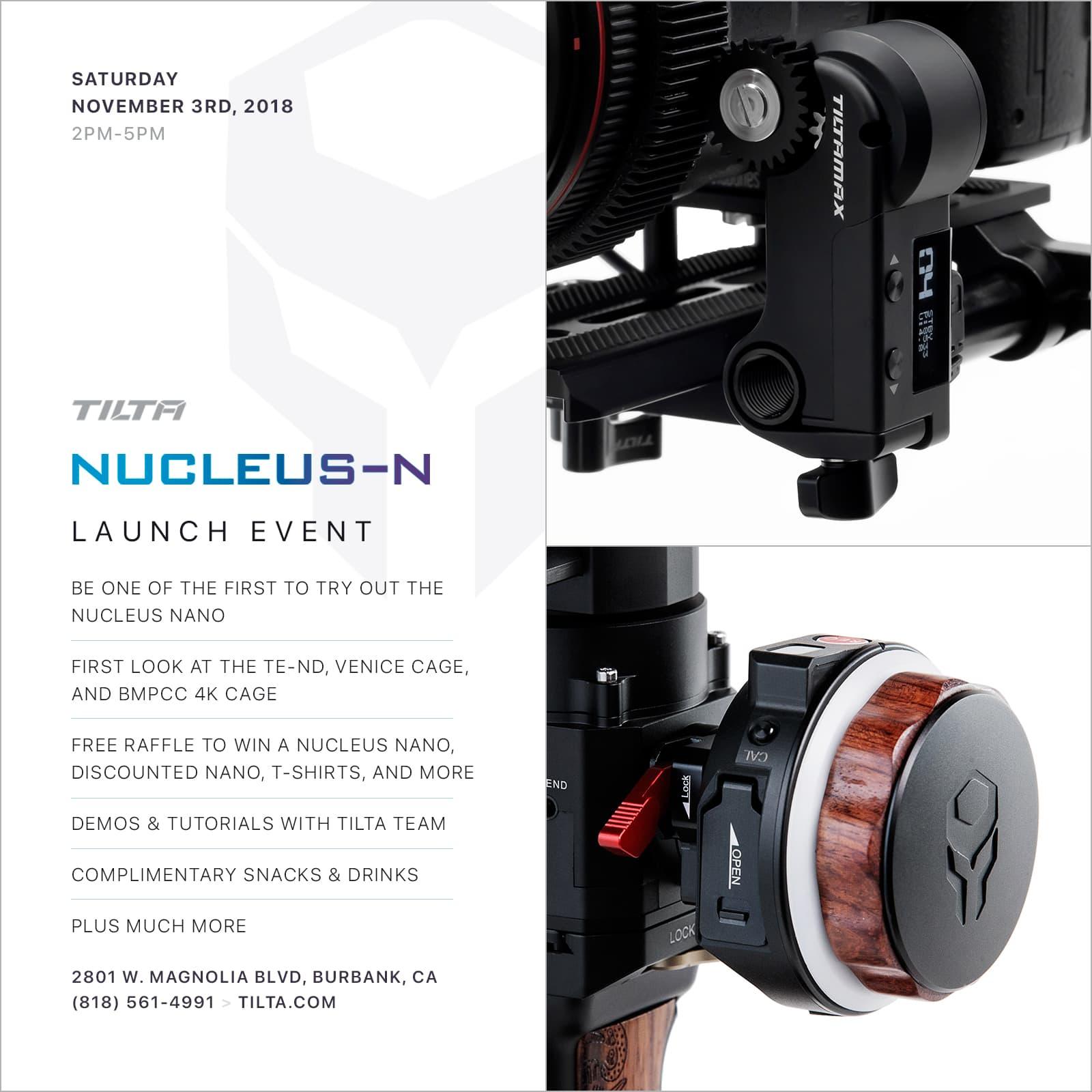 nano launch flyer