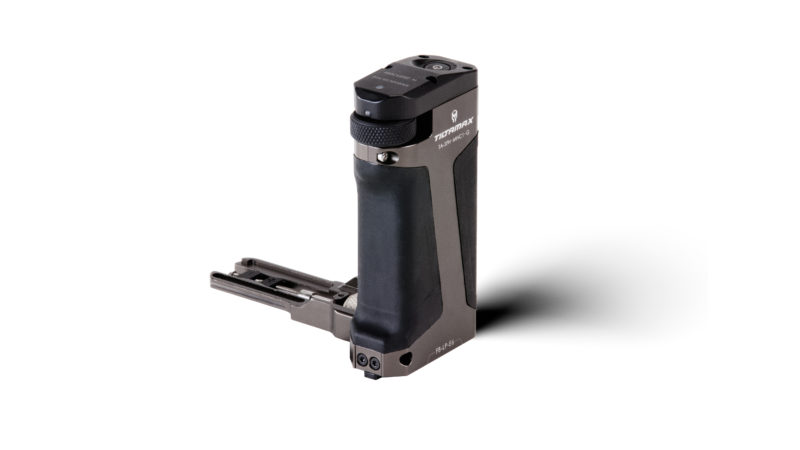 Side Focus Handle Type I (LP-E6 Battery) - Tilta Gray