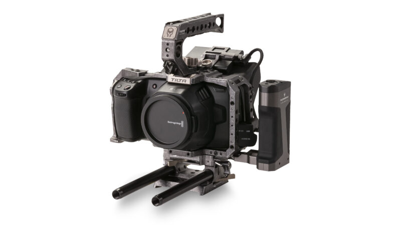 Tiltaing Camera Cage for BMPCC 4K/6K Advanced Kit - Tactical Gray (Open Box)