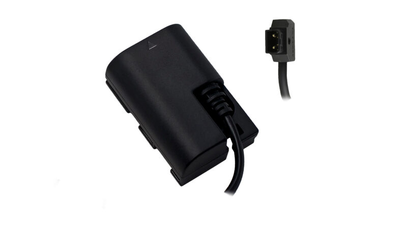 Canon LP-E6 Dummy Battery to P-TAP Cable