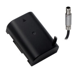 Panasonic GH Series Dummy Battery to 3-pin Fischer Cable