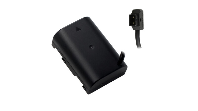 Panasonic GH Series Dummy Battery to P-TAP Cable