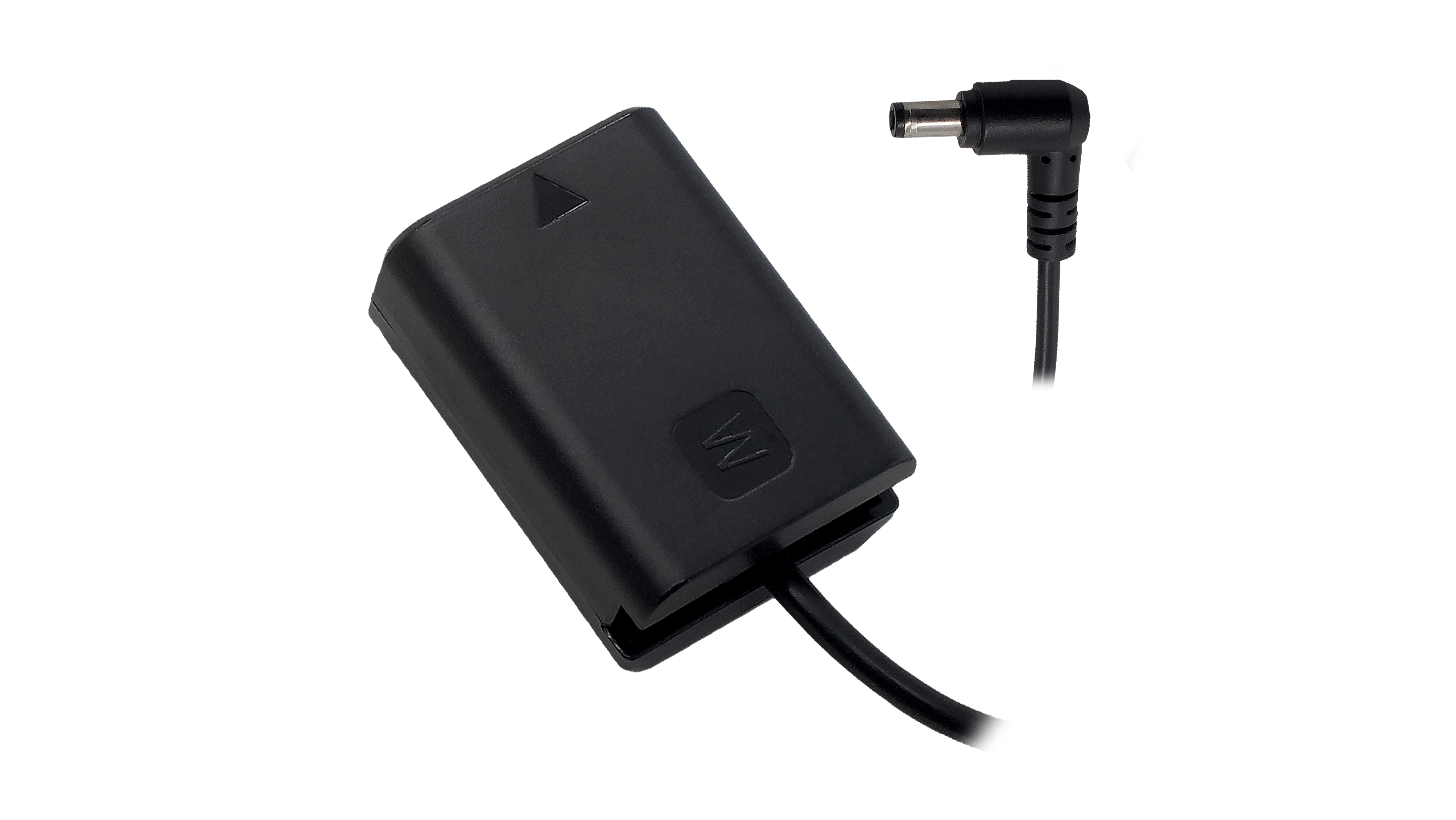 Sony NP-FW50 (A6/A7 Series) Dummy Battery to 5.5/2.5mm DC Male Cable