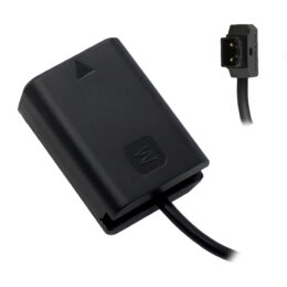 Sony NP-FW50 (A6/A7 Series) Dummy Battery to P-TAP Cable