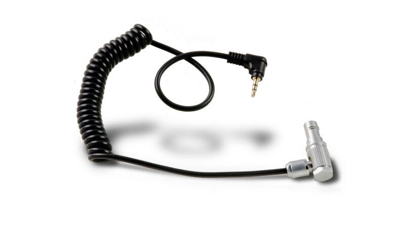 Sony FS5, Sony FS7, Blackmagic Ursa, Panasonic Eva1 Series Run/Stop Cable for Wooden Handle 2.0