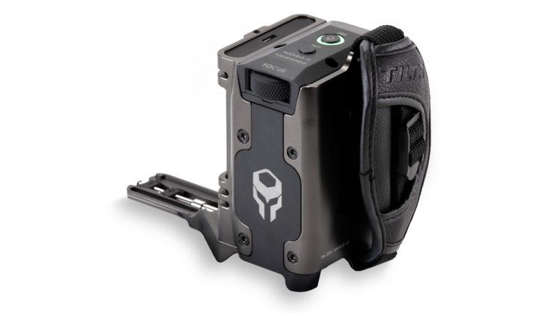 Side Focus Handle Type I (F970 Battery) - Tilta Gray