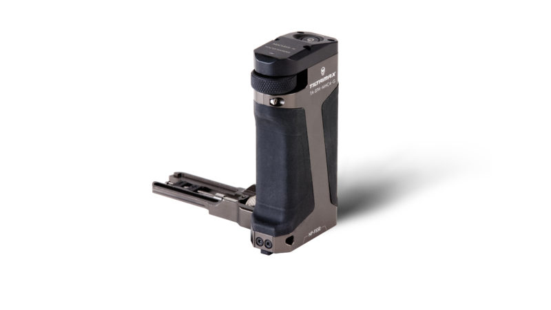 Side Focus Handle Type I (F570 Battery) - Tilta Gray