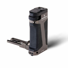 Side Focus Handle Type I (F570 Battery) - Tilta Gray