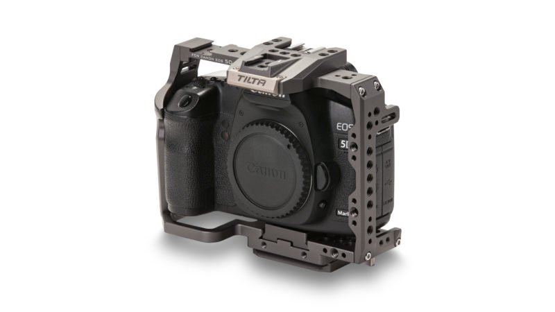 Full Camera Cage for Canon 5D/7D Series - Tilta Gray (Open Box)