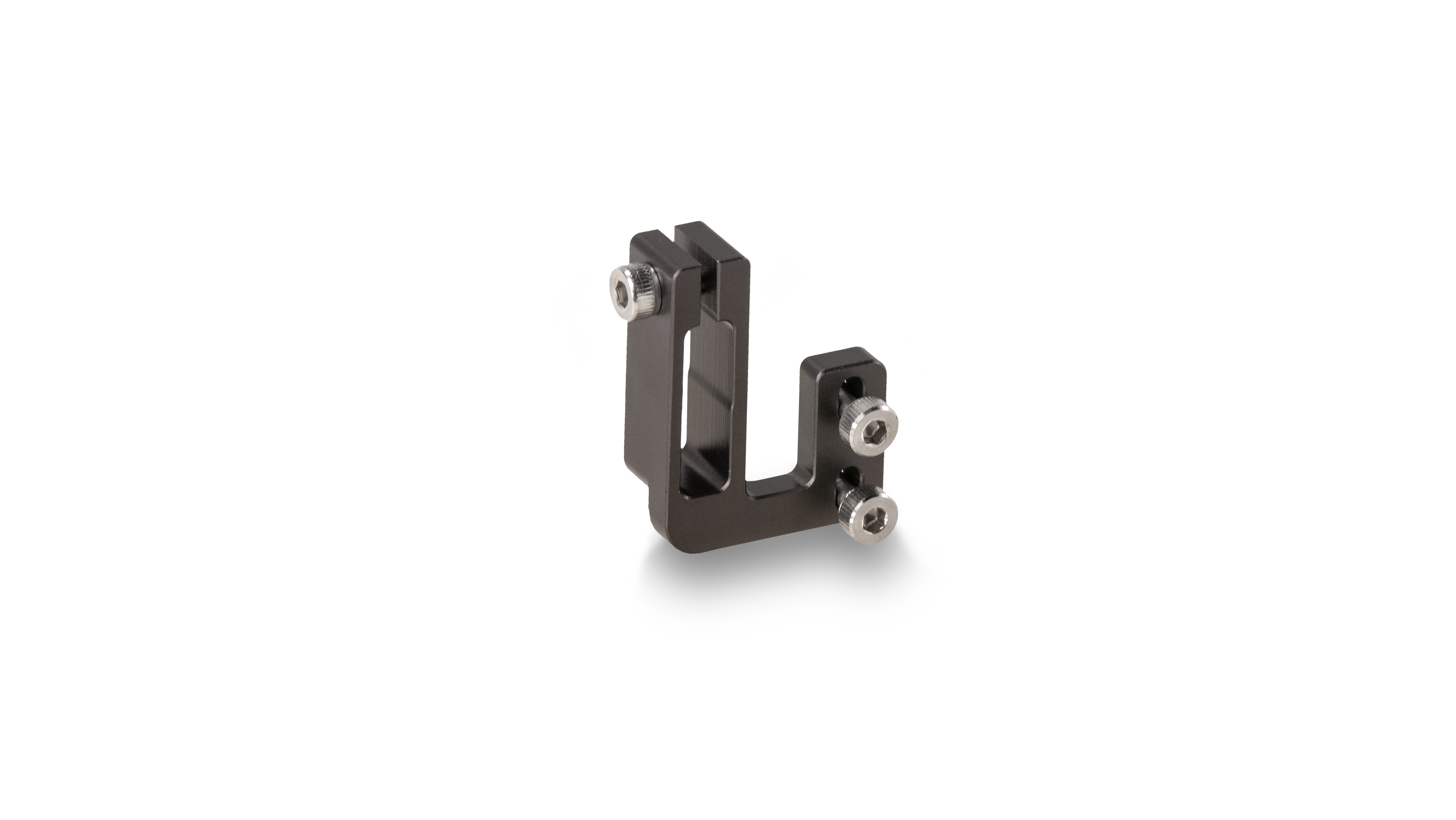 Gray Tilta HDMI and Run//Stop Cable Clamp Attachment for Canon 5D//7D Series