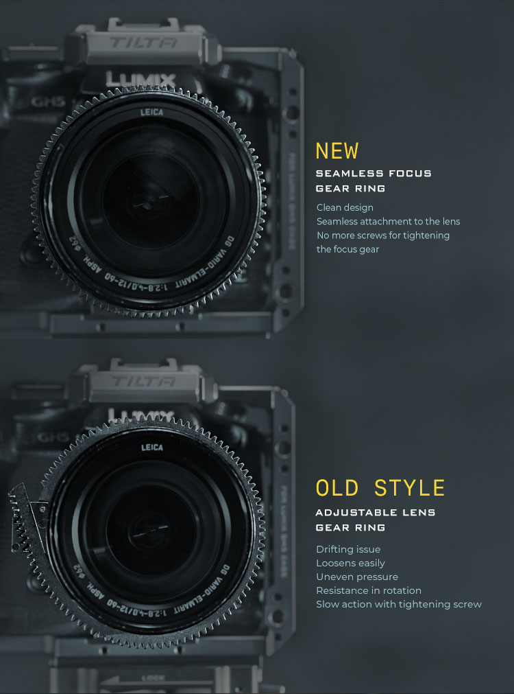 new style of focus gear