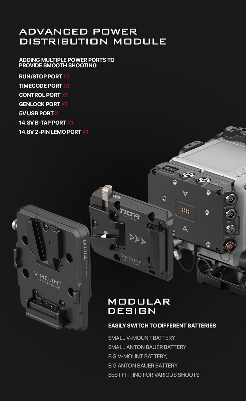 multi functional adapter plate