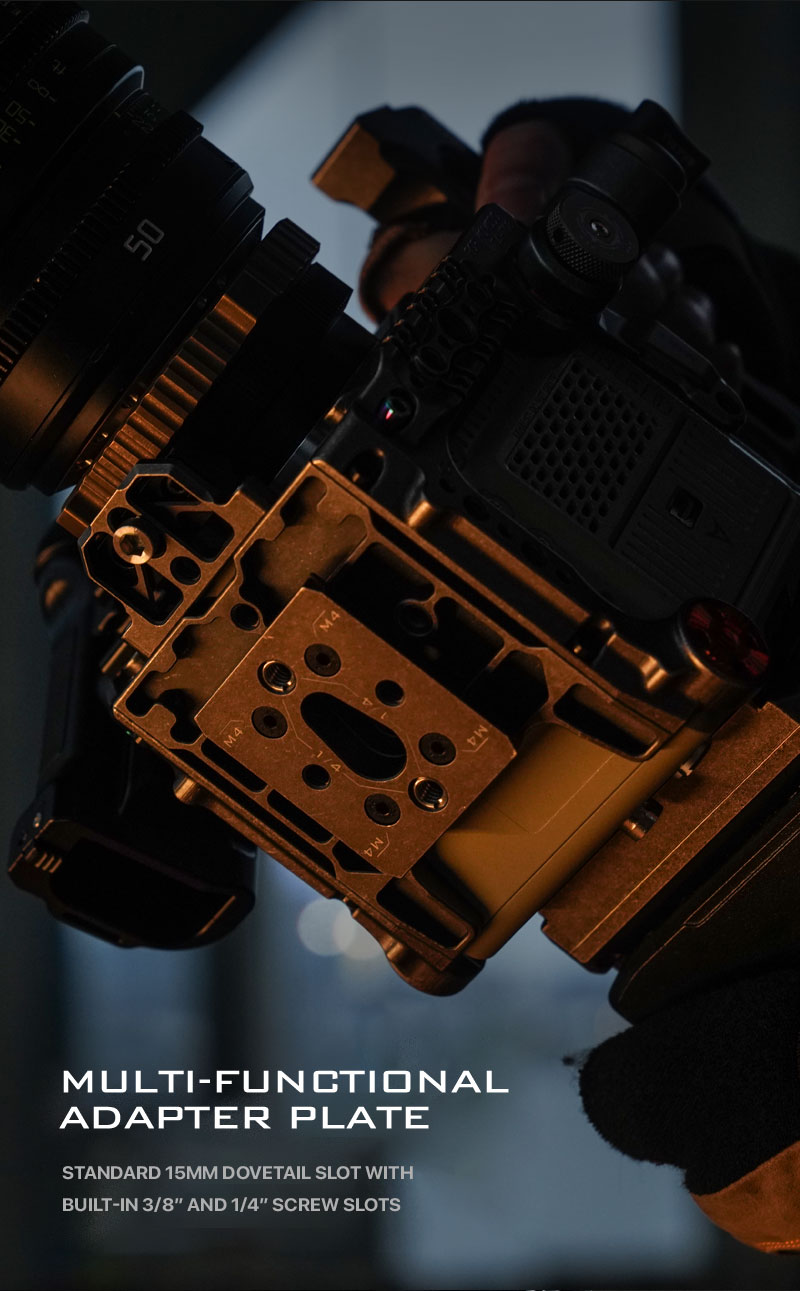 compatible with arca and manfrotto release plate