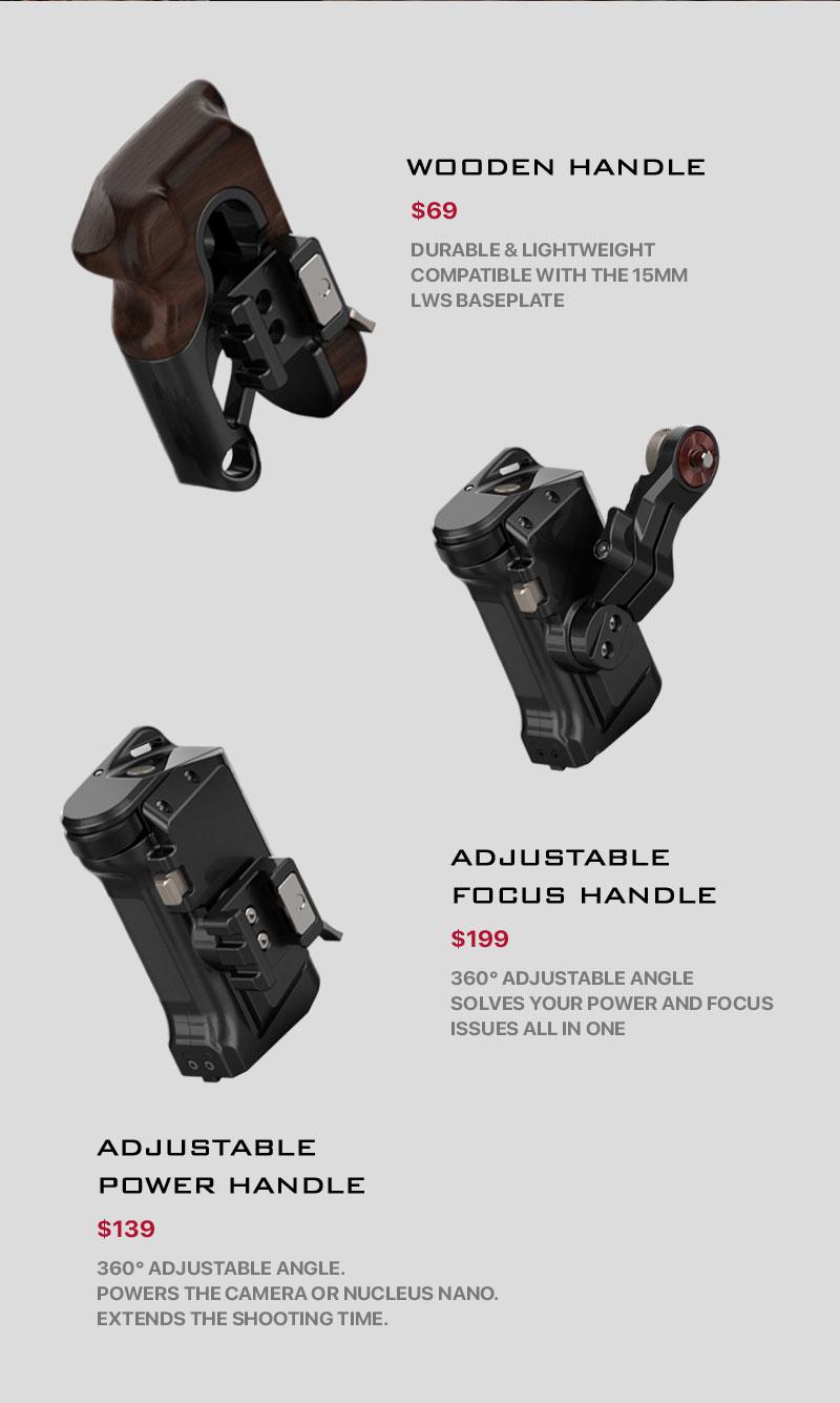 red komodo adjustable handle