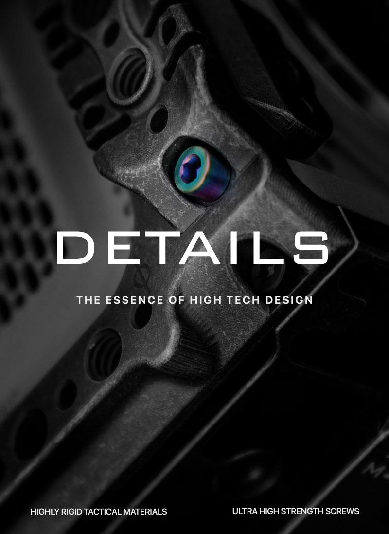 details the essence of high tech design