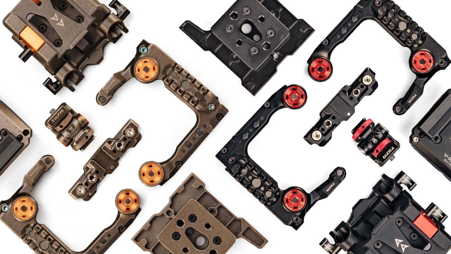 red komodo camera rig configuration list