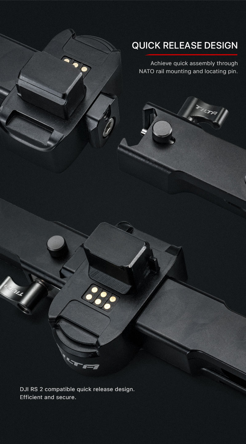 Dual Handle Power Supply Bracket for RS 2