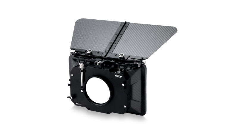 4×5.65 Carbon Fiber Matte Box (Clamp-on) with Single Backing
