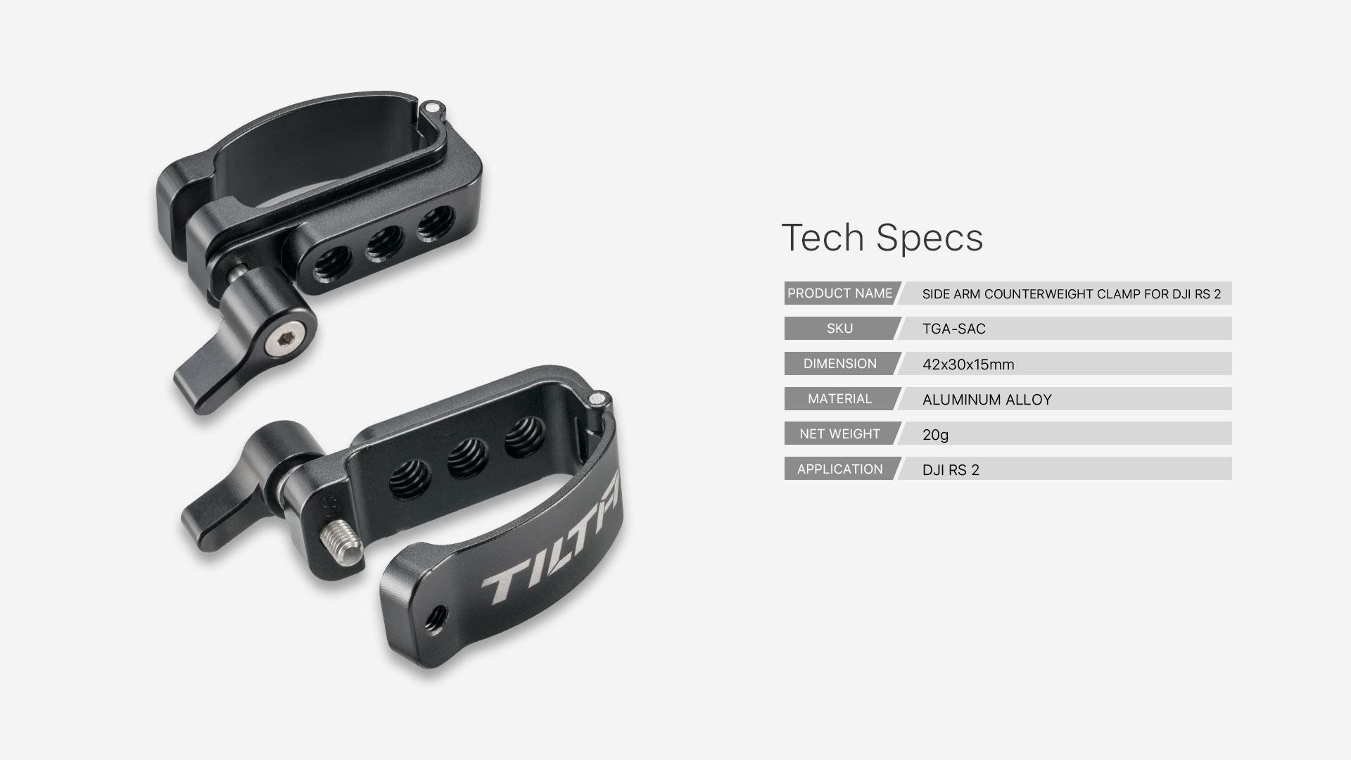 TGA-SAC tech specs