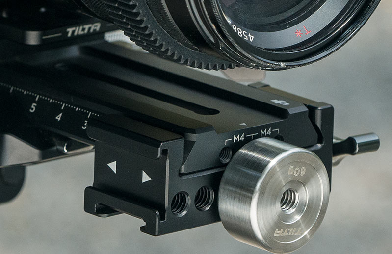 balance your camera rig on dji rs2