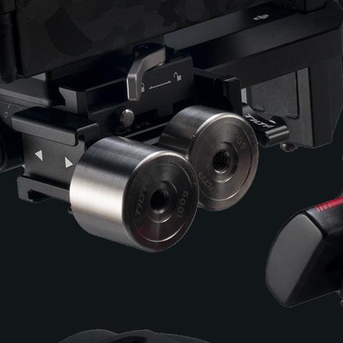 fly larger camera setups on your gimbal