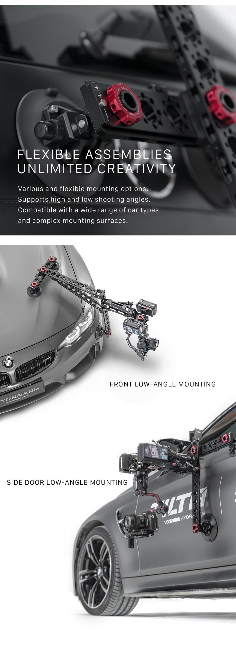 Hydra Alien Car Mounting System