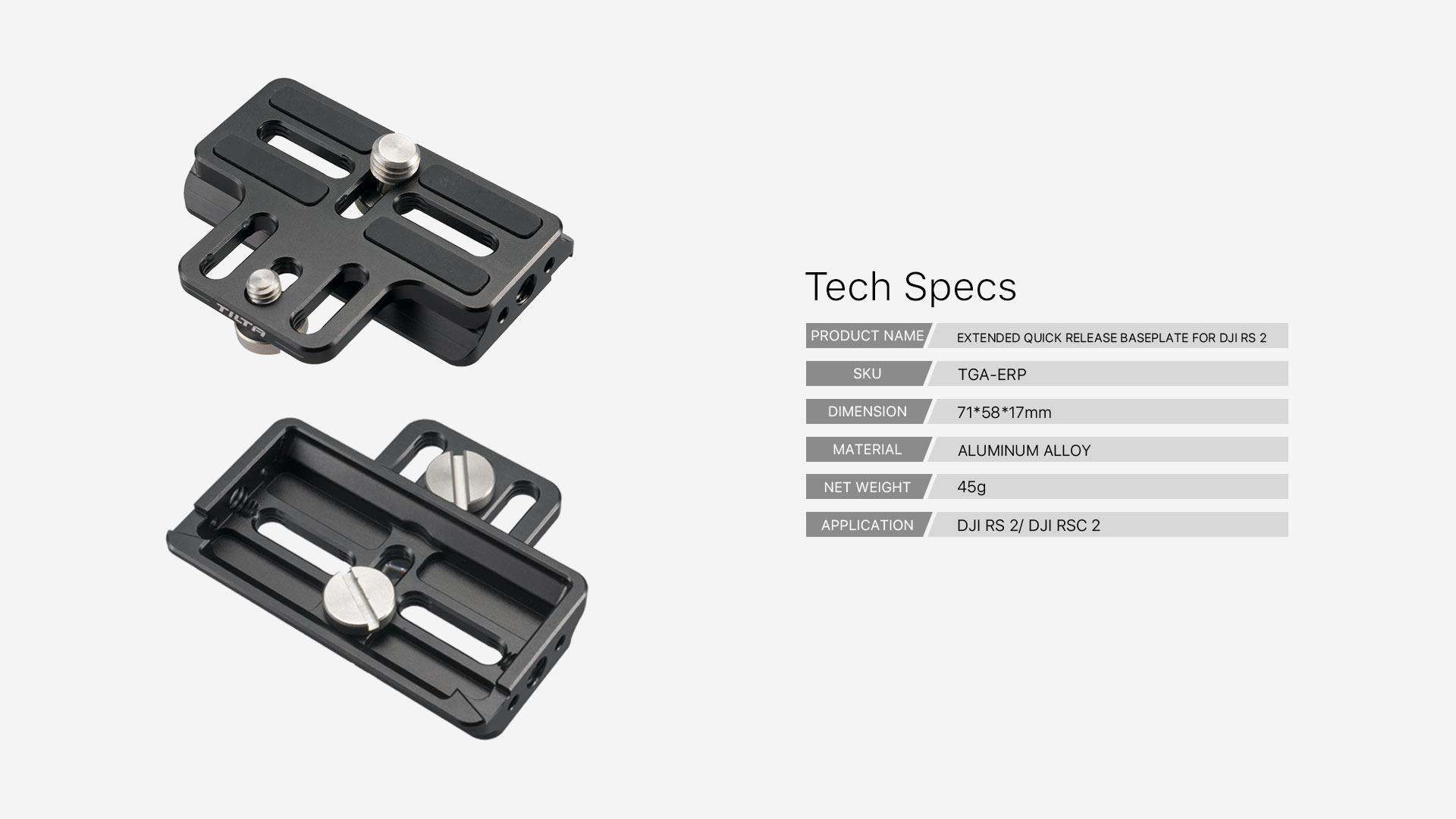 TGA-ERP tech specs