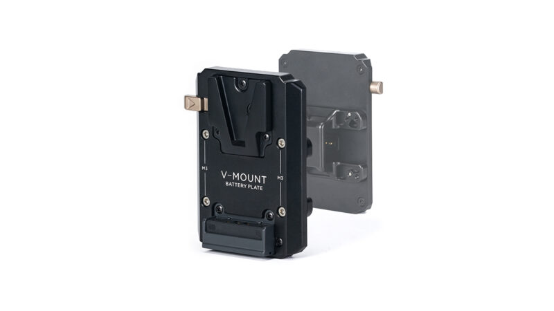 V-Mount Battery Plate for Dual Handle Power Supply Bracket
