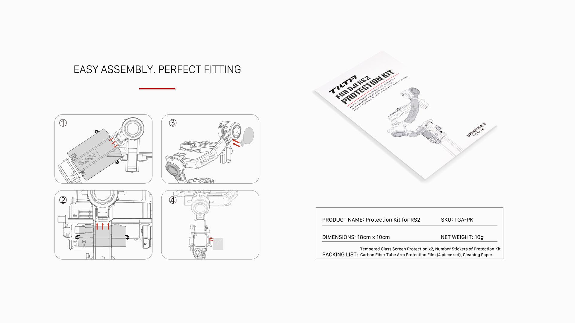 TGA-PK specs & assembly