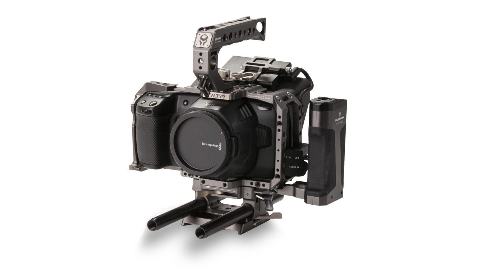 Tiltaing Camera Cage for BMPCC 4K/6K Advanced Kit - Tilta Gray (Open Box)
