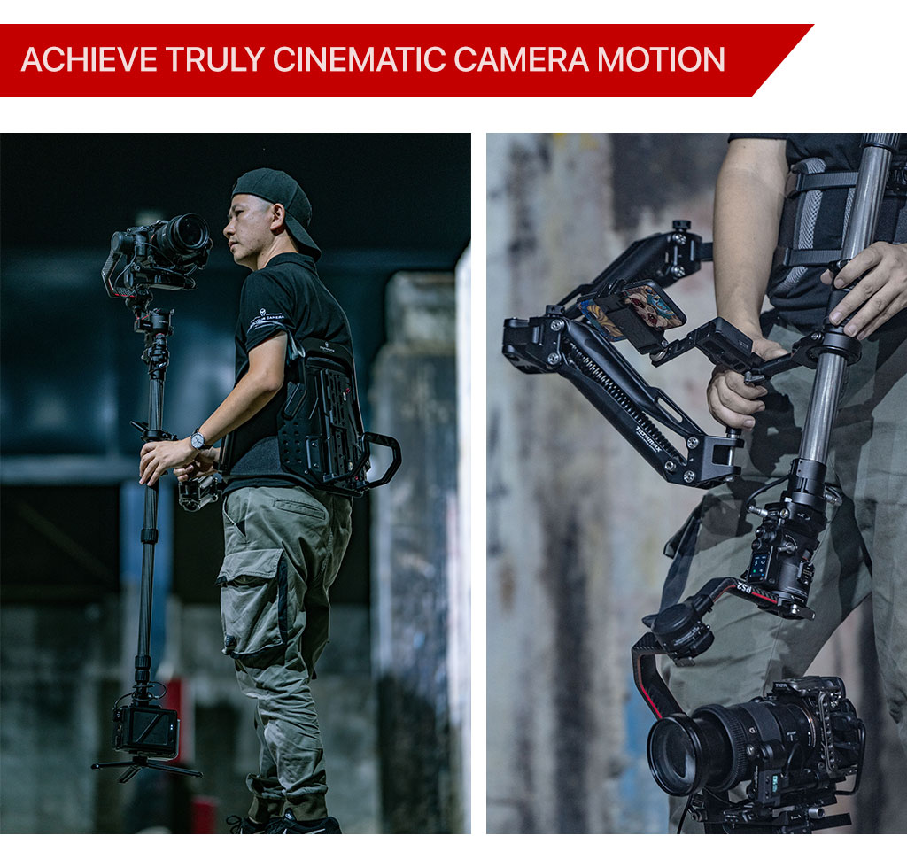 achieve truly cinematic camera motion