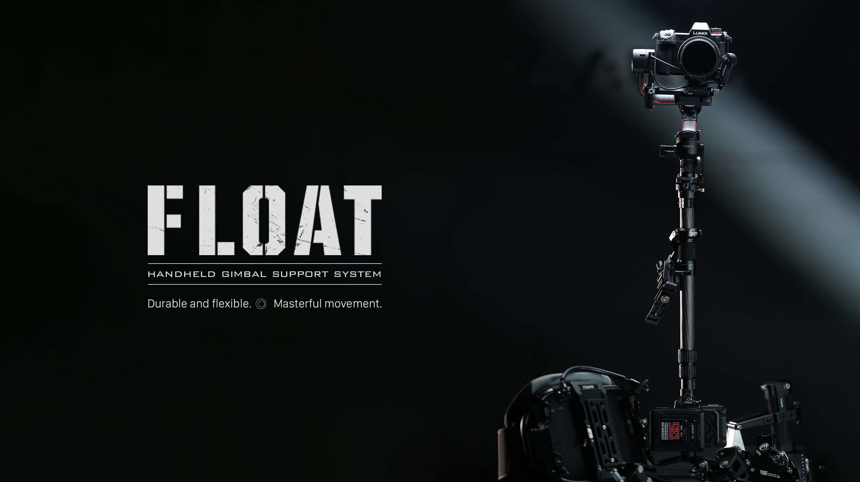 Tilta Float Handheld Gimbal Support System Overview for RS2