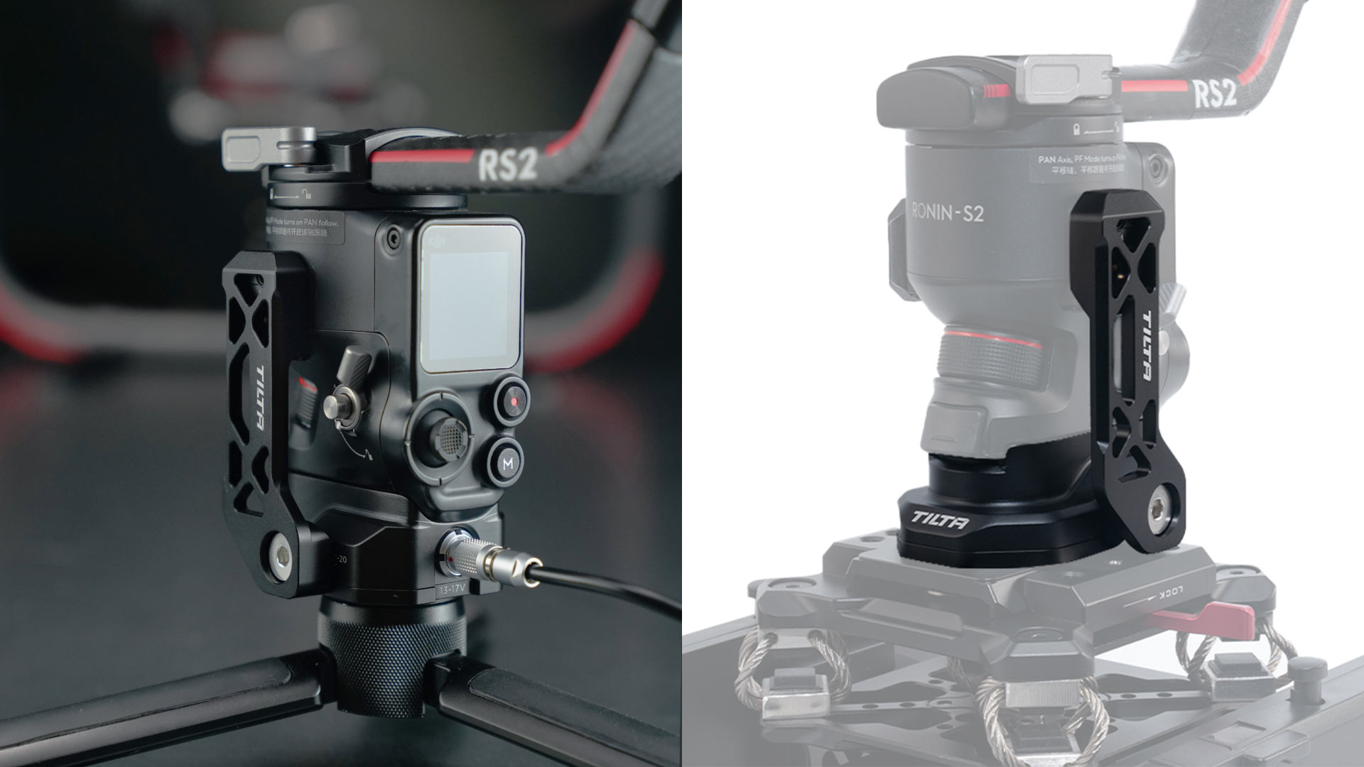 power supply baseplate for dji rs2
