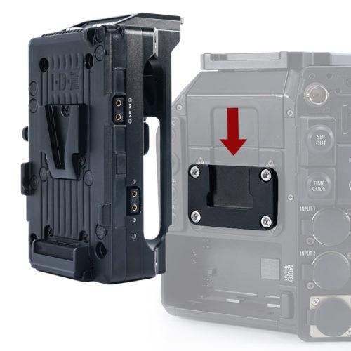 external battery slot receiver