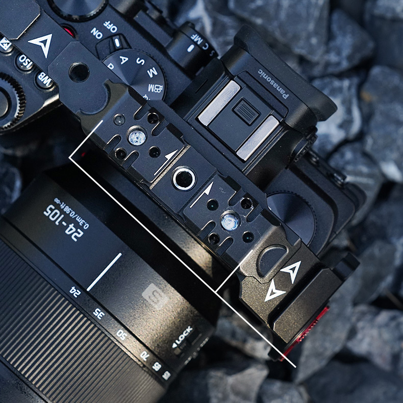 lumix s5 cage - top