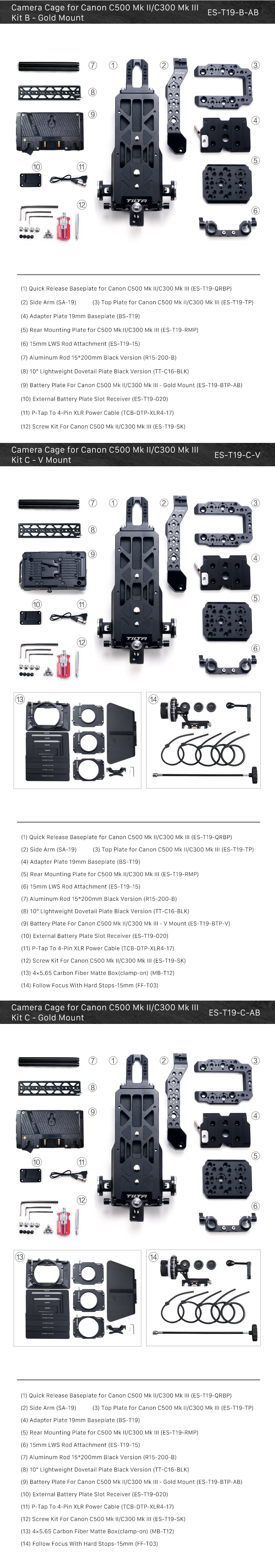 Canon C500 Mk II/C300 Mk III
