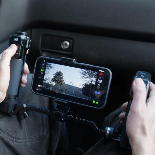 remote control in car