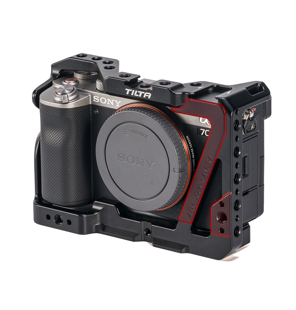 Tiltaing Sony a7C cage