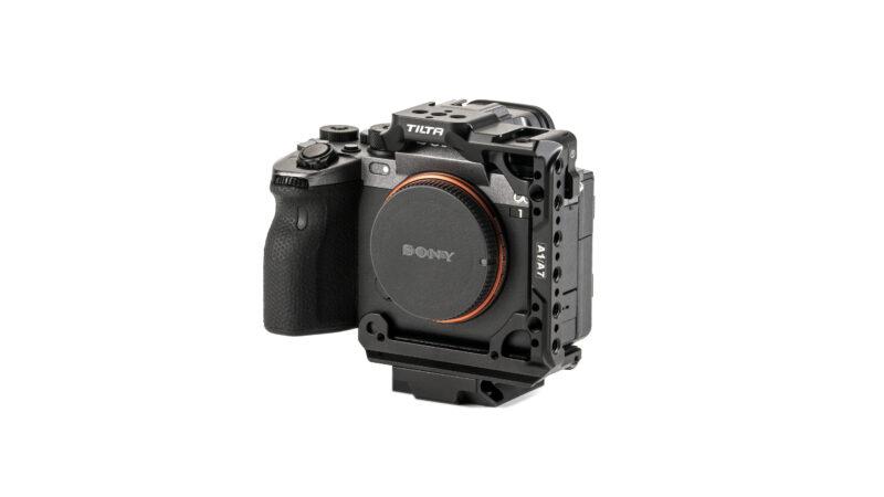 Half Camera Cage for Sony a1 - Black