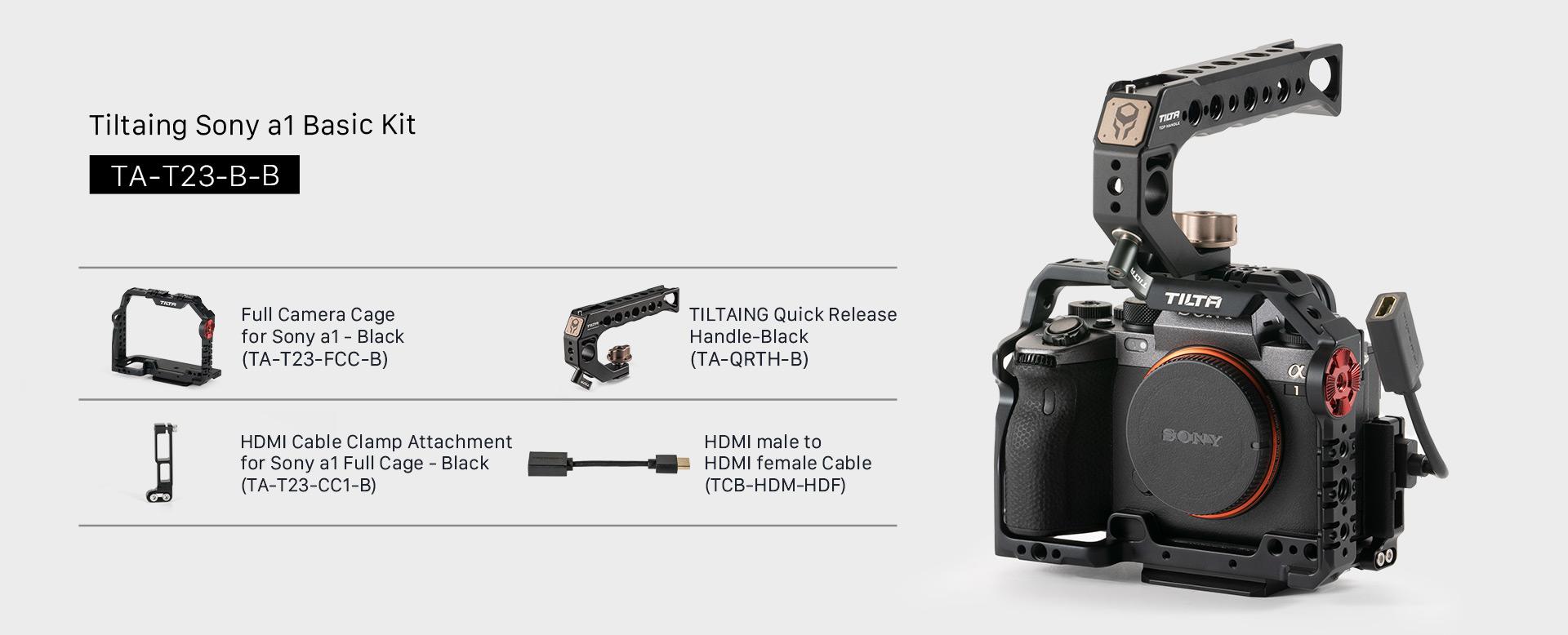 Tiltaing Sony a1 Basic Kit