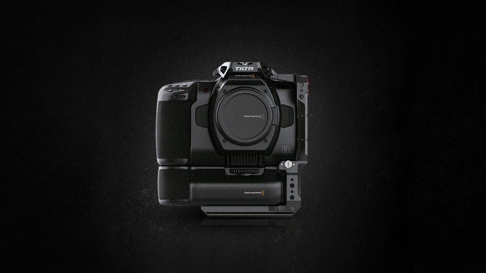 tilta bmpcc 6k pro camera cage intro