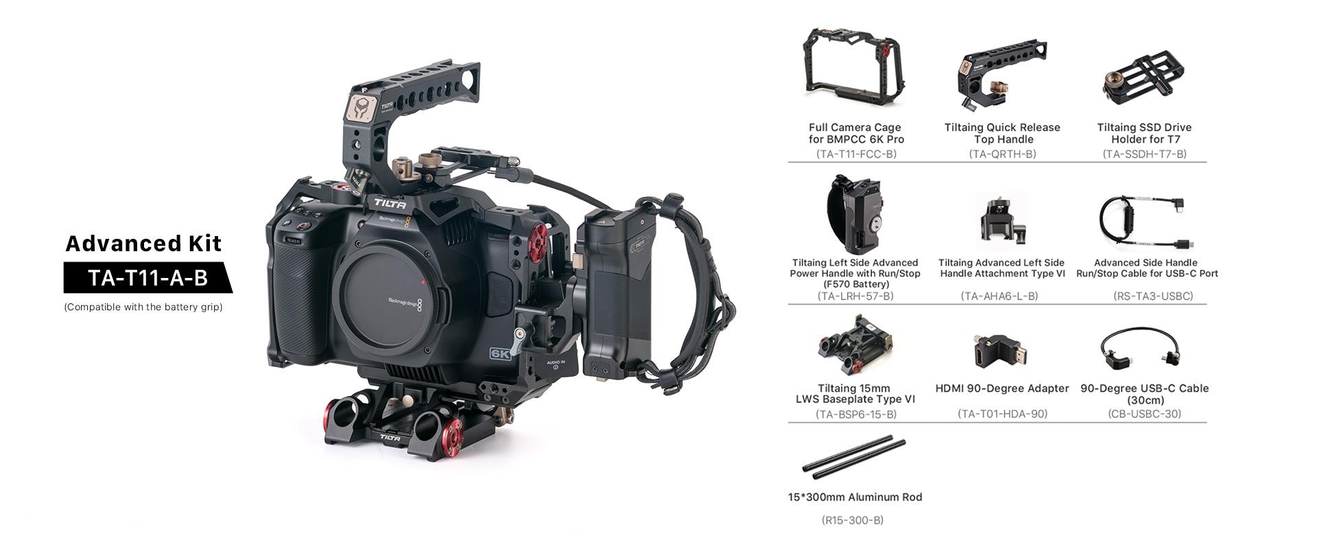 Advanced Kit for BMPCC 6K Pro