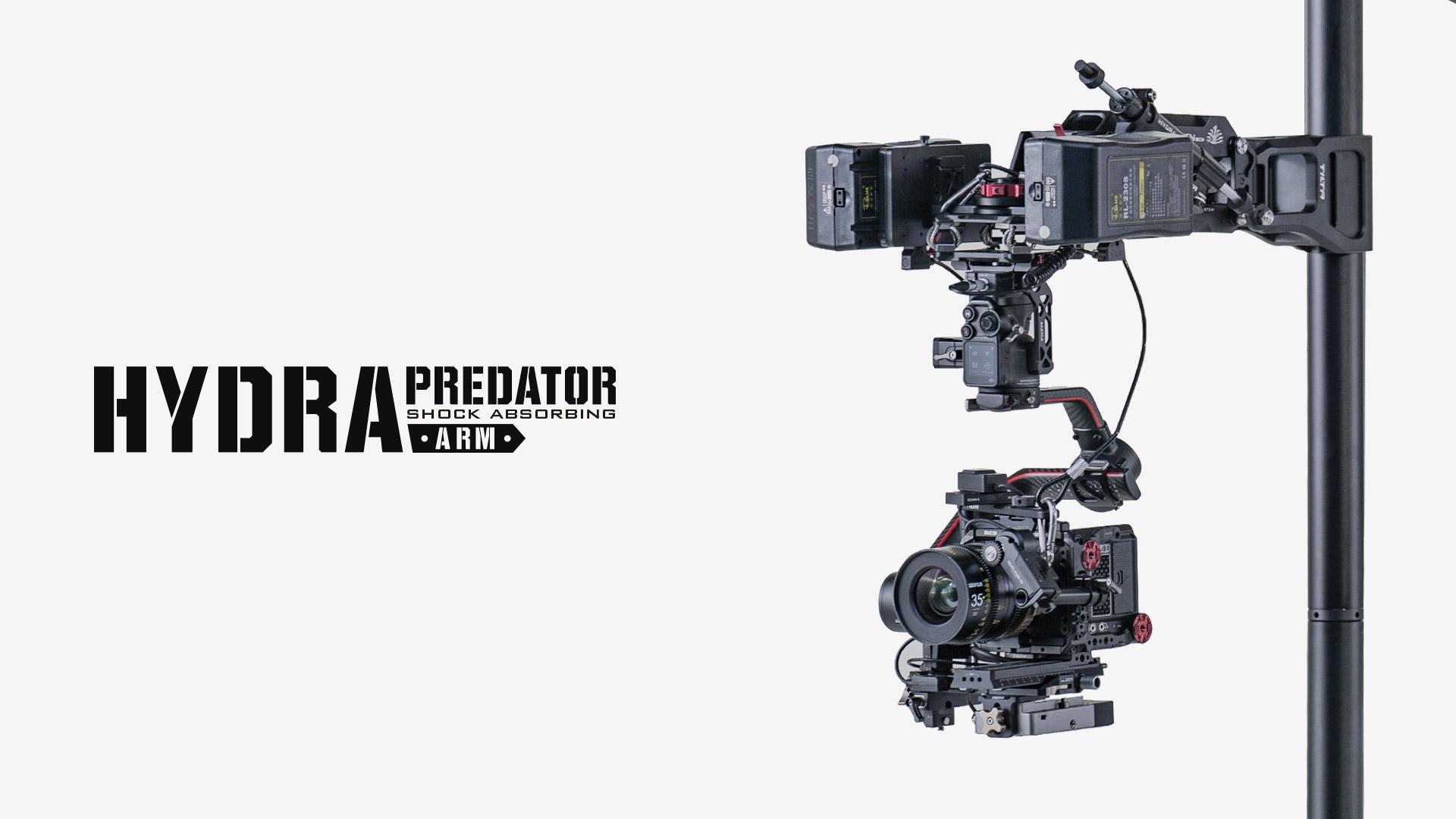 hydra predator shock absorbing arm