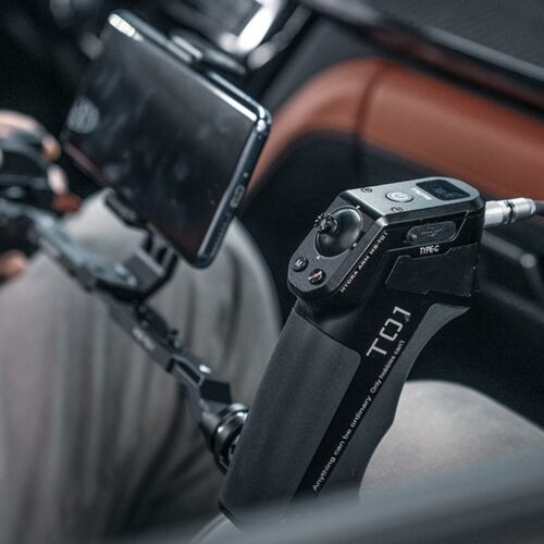 wired control for rs2 vehicle camera mount