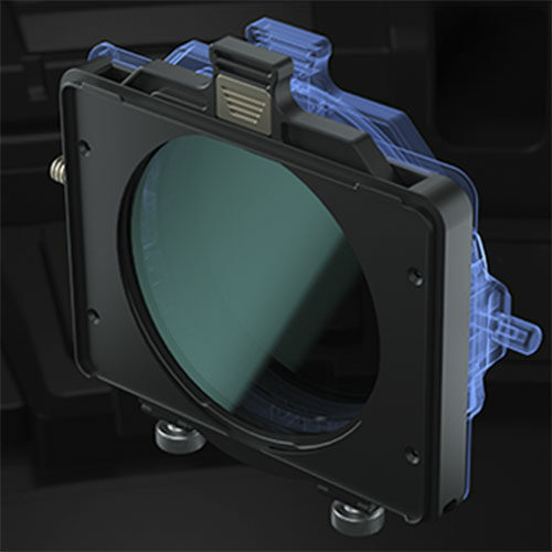 95mm Stackable Circular Filter Tray for Tilta Mirage